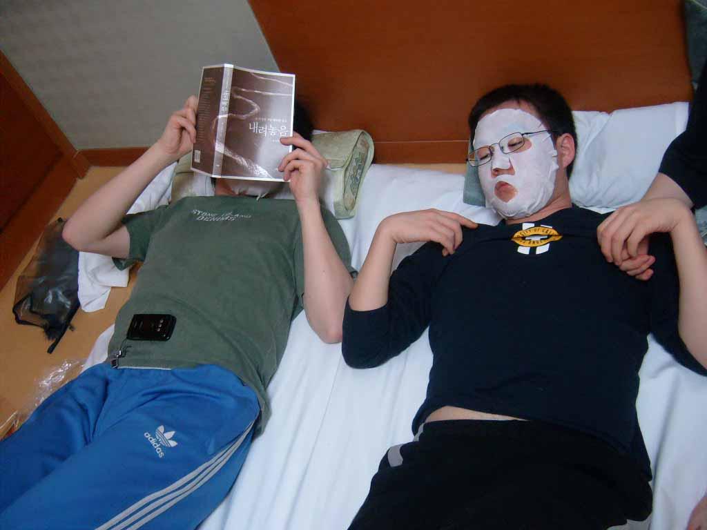 마레몬스 호텔에서의 휴식